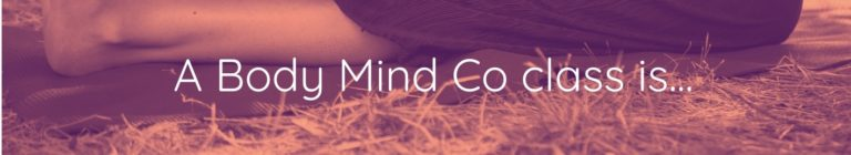 a Body Mind Co class is